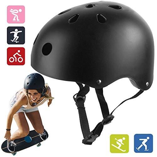 Skateboard Helmet Suitable for Multi-Sport Scooter Bike Skating Rollerblading Skateboarding for Kids Youth &