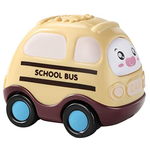 LTLWL 6pcs Infant Inertial Toy Car Stimulate Imagination Cultivate Curiosity Encourage Hand Eye Coordination