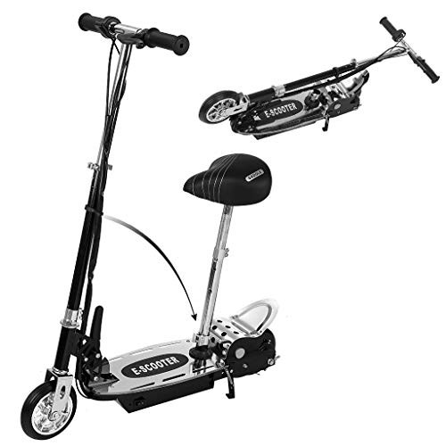 GreatGiftList Electric Scooter – Electric Scooter with Adjustable Handlebar and Movable Seat