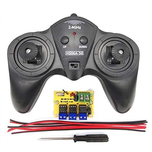 EAPTS 24G RC Transmitter 6 Channel Remote Control Receiver DC 6V-15V Car Model DIY