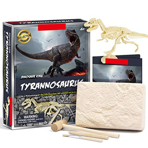 minansostey DIY Dinosaur Crocodile Novelty Digging Fossils Excavation Toys Kids Learning Educational Funny Gifts