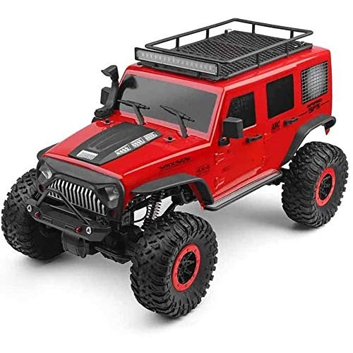 SHIZPHH 1:10 Remote Control Car 4WD Off Road Monster Trucks with Head Lights 24Ghz