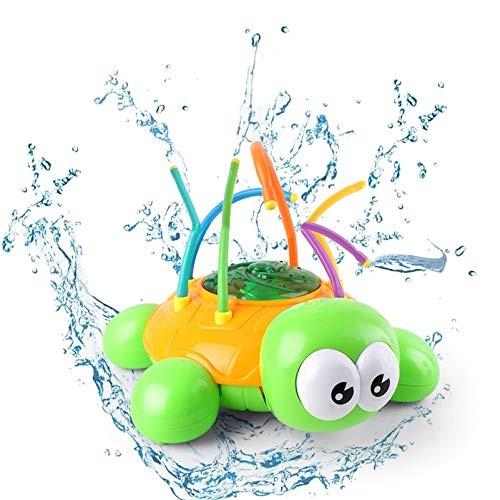 2020 NEW – Water Spray Sprinkler Kids Toy Outdoor Backyard Spinning Turtle Sprinkler Toys