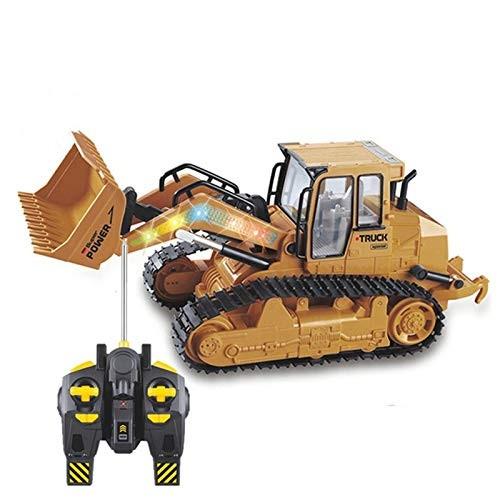 RC Truck Loader Remote Control Bulldozer Track Loader Metal Construction Engineer Vehicles Car Model