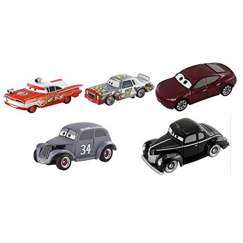 TOMICA Cars Assortment Set (Disney Cars Set of 5)
