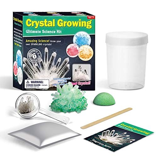 Toddler Fine Motor Skill ToyKids Crystal Growing Planting Science Physics Experiment Kit Educational Toy – Random Color