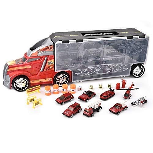 Handheld Truck Vehicle ToyKids Handheld Toy Tow Truck Model Vehicle Car Educational Toys Learning
