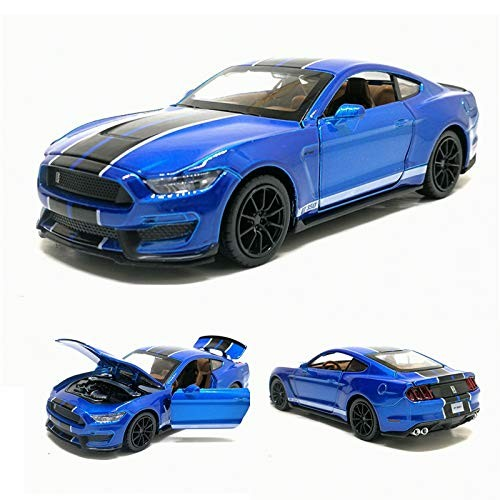 Sports Car Simulation Toy Car Model Alloy Pull Vehicle License Collection Children Toys Gift