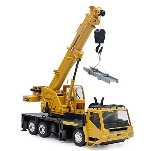 LISI Diecast Tower Crane Electric Kids Wireless Remote Engineering Digger Truck Eco-Friendly Plastic 680 Rotation for Early Education