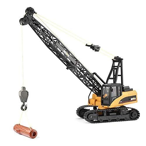 LISI Tower Crane Hydraulic Toy Car Simulation Chain Type RC 24G Radio Control Battery