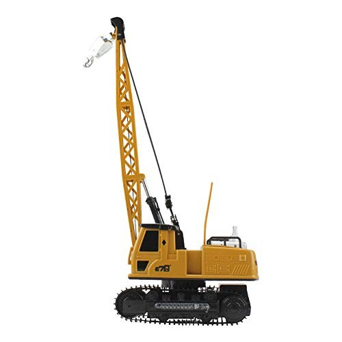 LISI Construction Vehicles Diecast Tower Kids Games Rotate 680 Rechargeable Remote Control Hanging Tower