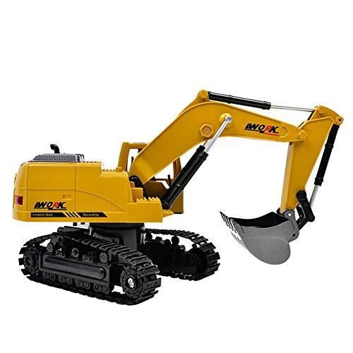LISI Excavator Hydraulic Toy Car for 8 Channel Remote Control 270 Rotation