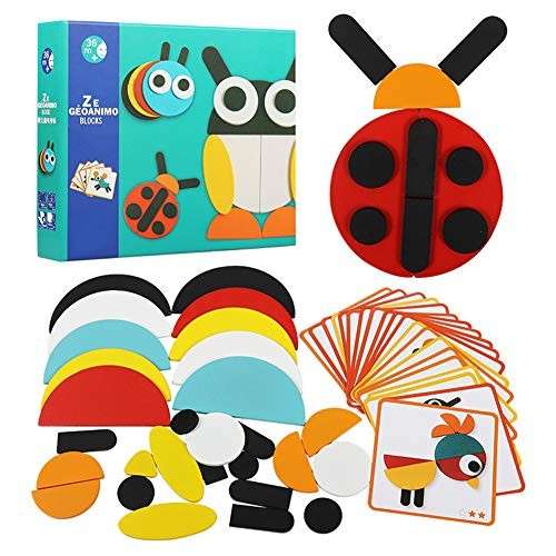 Jigsaw Toys Baby Early Learning Cognitive Building Block Toys