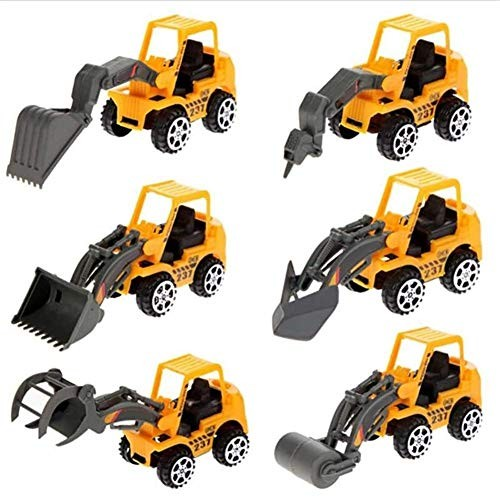 XBR Novelty Toys6Pcs Die Cast Racing Cars Vehicle Play Toy CarHalloween Christmas Toy GiftEducational