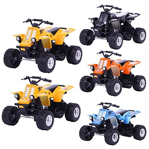 XBR Toddlers Baby 4pcs Die Cast Racing Cars Vehicle Play Toy CarHalloween Christmas Toy