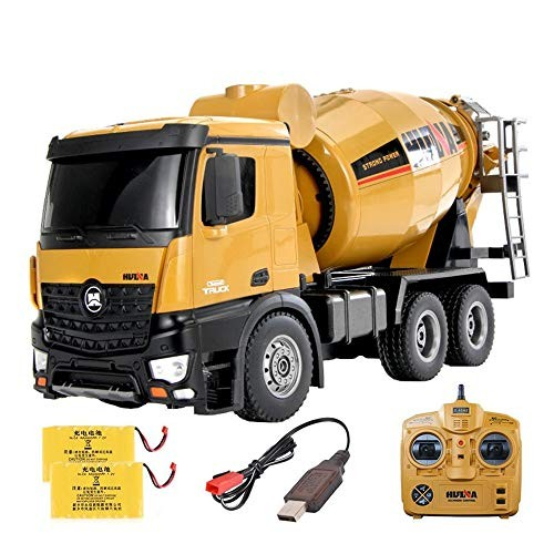 TBFEI 24G Large RC Mixer Truck Engineering Vehicle Children's Toy Boy Car Tumbler Remote Control Tumble Stunt