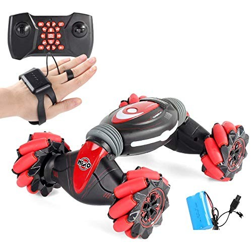TBFEI Children's Toy Remote Control Car Boy Electric Car Toy Gesture Sensing Twist Off-Road