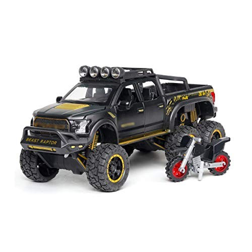 Compatible with Ford Raptor SUV Model 1:24 Toy Car Alloy Car Model Pull Back