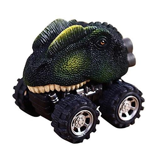 Dergo Mini Back Children's Day Gift Toy Dinosaur Model Mini Toy Car Back of