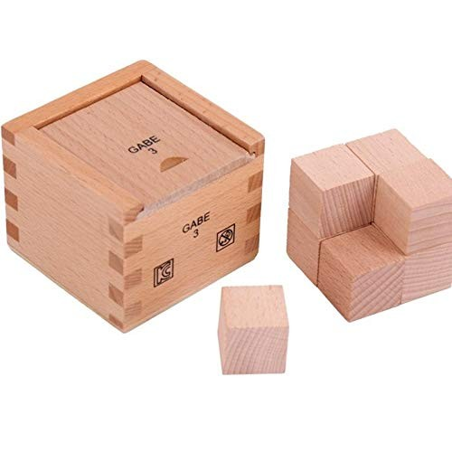 Baoblaze Unpainted Wooden Cubes Toddler Kids Building Blocks Stacking Game Toys