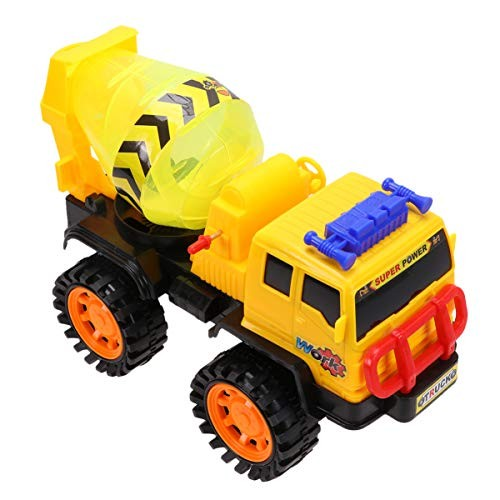Toyvian Construction Cars Mini Vehicles Toy Blender Truck Construction Vehicles Mini Engineering Toys for