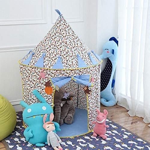 XTBB Kids Play Tent Foldable Kids Tent House Aby Tent Tipi Camping Toy Tent