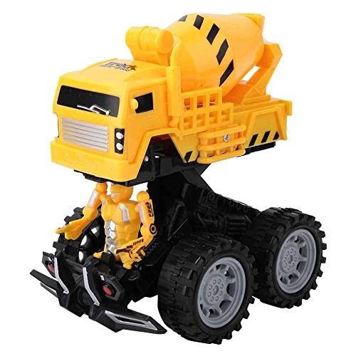 ZJchao Kid Car Toy Electric Kid Boy Simulated Catapult Engineering Car Toy Mini Vehicle