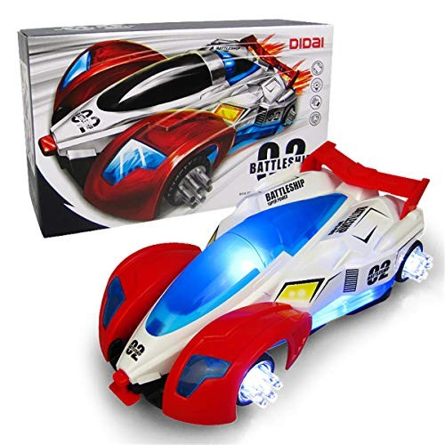 WE-POLUJ Cars & Airplanes Cool Lights Music Deformable Toy Cars Vehicles Boys Favors Gift