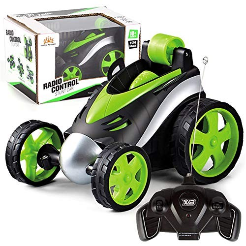 BJ&HH Wireless Remote Control Car Tumbling Stunt Dump Truck Toys for Children Electric Cool