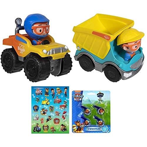 Blippi Mini Vehicle 2 Pack Monster Truck & Dump Truck