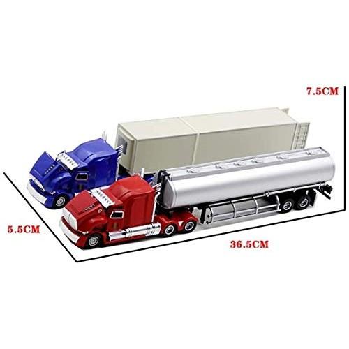 Zeyujie Alloy Model Children's Toy Engineering car 1:50 Kenworth Container Truck Container Truck Gift