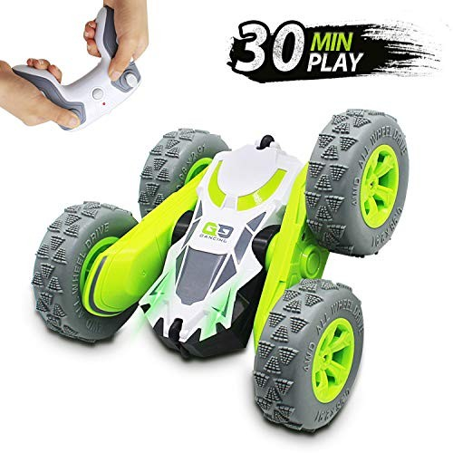 Seckton Gifts for 5-12 RC Stunt Car Remote Control Car for Kids