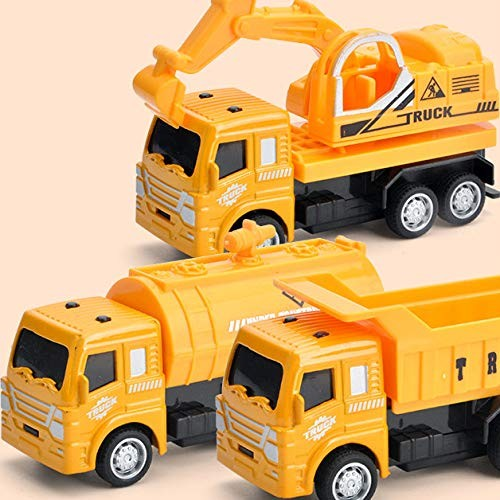 EREG Back Car Children's Puzzle Model Car Toys A Variety of Styles
