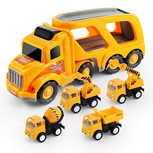 ANNKIE Toy CarsToy TrucksBeach ToysOutdoor and Indoor Educational Interaction Family Toys for Boys and