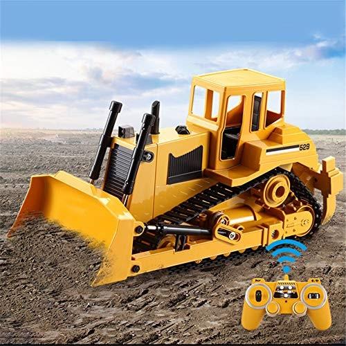 BJ&HH 24G RC Truck Crawler Bulldozer 1:20 Caterpillar Tractor Crawler Excavator Electric Engineering Car