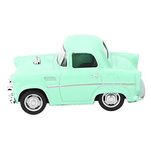 LetCart Model Car Toy-Alloy Vintage Simulation Vehicle Model Children Kid Pull-Back Vehicle Toy(Green)