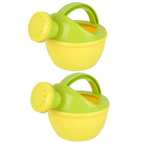 NUOBESTY Plastic Watering Can Home Garden Watering Cans Kids Beach Bath Toys Pack of