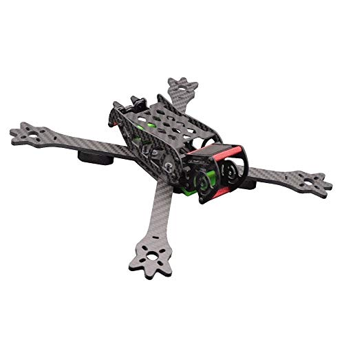 CHENJUAN RC FPV Racing Drone Carbon Fiber x-Type 235mm Frame Kit DIY Aircraft Mini Indoor Racer 4-axis Quadcopter Accessories Spare Parts