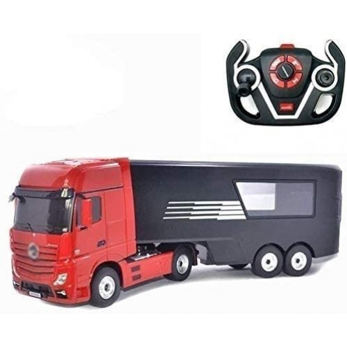 Zeyujie 24G Pair Frequency hot Blood era Remote Control Container Truck 1:26 Trailer six