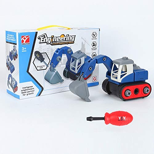 Construction Toys 1:24 Scale Engineering Vehicle Toys Excavator Truck Model Toy Cars for Kids