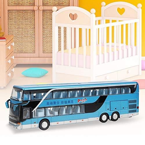 Elprico Kids car Model Toys Electric 1:50 Alloy Double-Decker Bus Model Toys Kids Kids