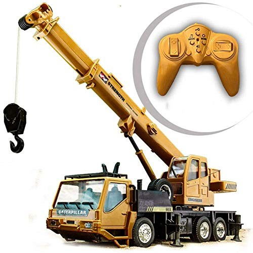 KTDT Remote Control Dump Truck Construction Vehicle with Charging Simulation Transport Vehicle Electric Remote