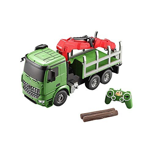 BJ&HH Big Size Simulation Remote Control Truck Transport Vehicles Car Toy 24G 6CH Car