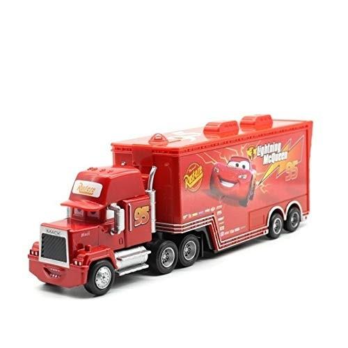 WXX MMBH Disney Pixar Cars 2 3 Toy Lightning McQueen Jackson Storm Mack Uncletruck