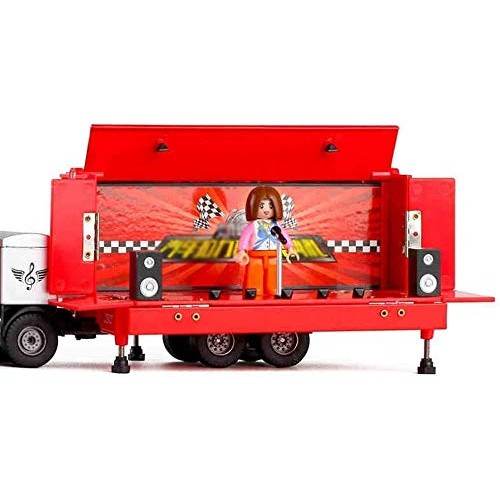 Zeyujie 2 Colors Optional Birthday Gift Performance Toy car 1:50 Alloy Mobile Stage car