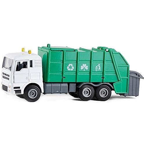 Zeyujie Green 1:50 garbage truck clean environmental protection car metal children's toy simulation car