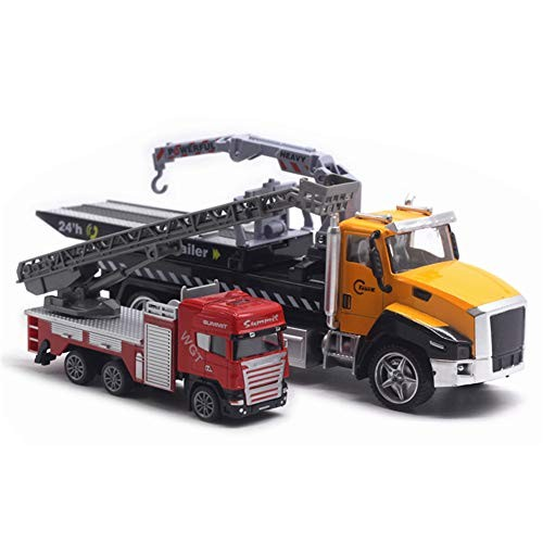 N-R RUxuean1 2Pcs Car Toy for Kids Toddlers Boys Child Diecast Rescue Vehicle Fire