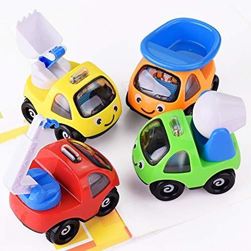 N-R RUxuean1 Children Mini Simulation Engineering Car Truck Vehicle Model s for Kids Children