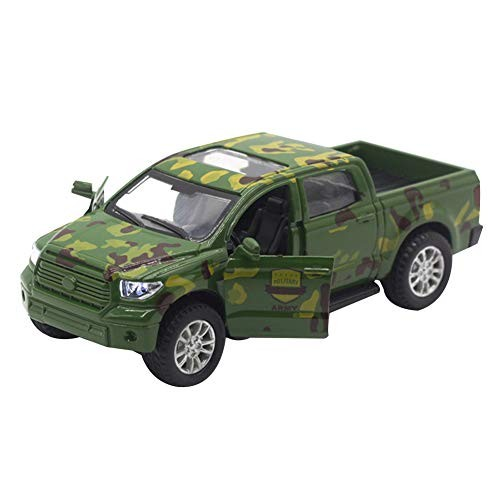 N-R RUxuean1 Mini Camo Off-Road Car Pull Back Model with Light Sound Education Toy