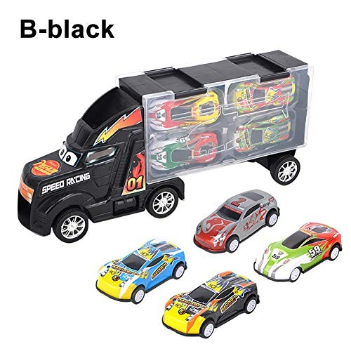 N-R RUxuean1 Container Truck Inertia Metal Car Diecast Model Birthday Gift Toy for Boy